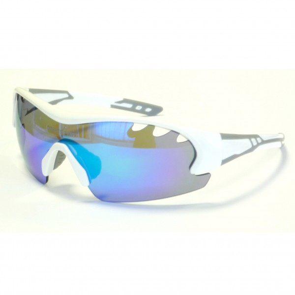 DEKO AIR cycling glasses white/grey colors