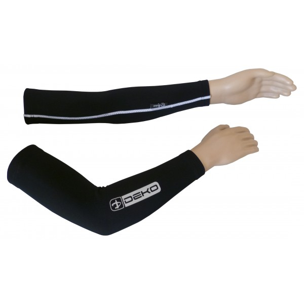 DEKO DUAL arm warmer black color