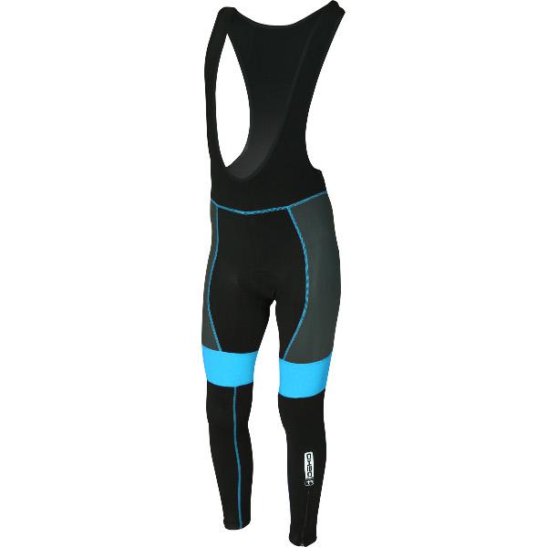 DEKO LEADER GEL winter bib tights black/blue color
