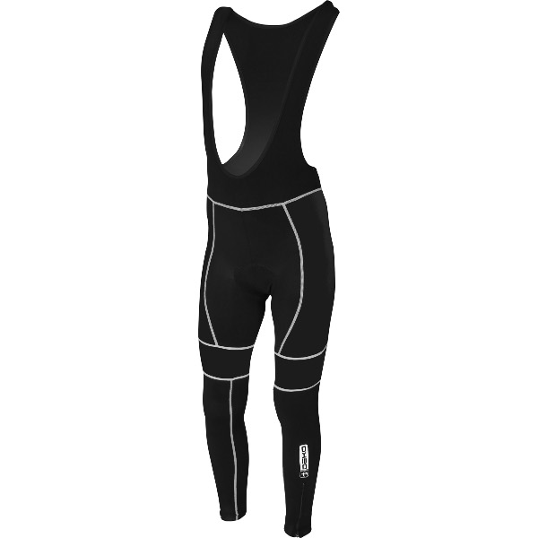 DEKO LEADER winter bib tights black color