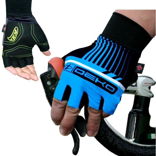 DEKO STYLE gloves blue/black color