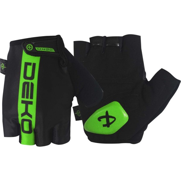 DEKO LINE black/fluorescent green color