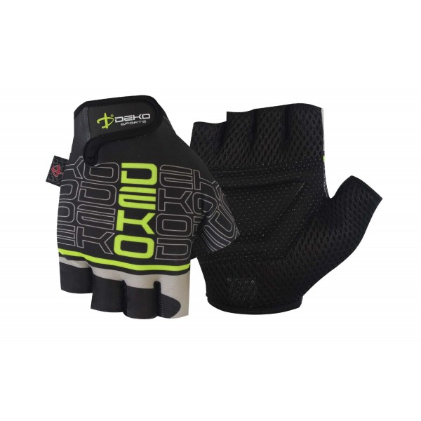DEKO NEW START black/fluorescent green color