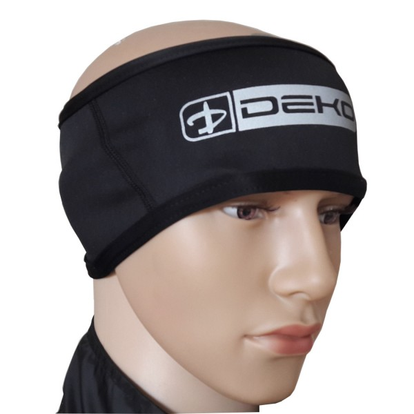 DEKO NEW COLD WIND head warmers black color