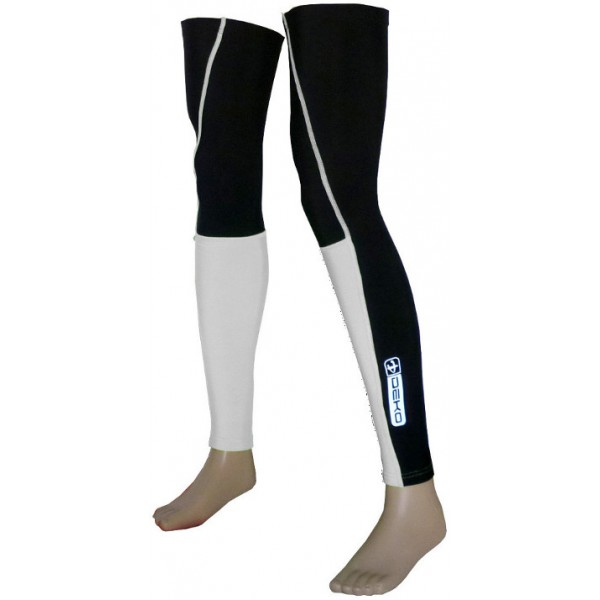DEKO DUAL leg warmer white/black color