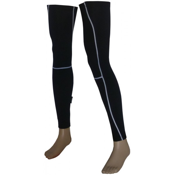 DEKO LINE leg warmer black color