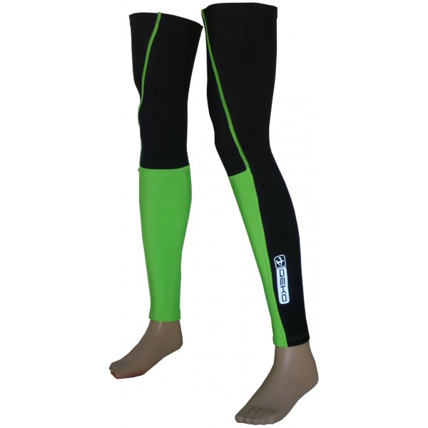 DEKO DUAL leg warmer fluorescent green/black color