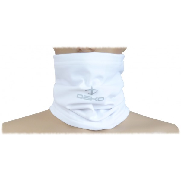 DEKO TUBE neck warmer white color