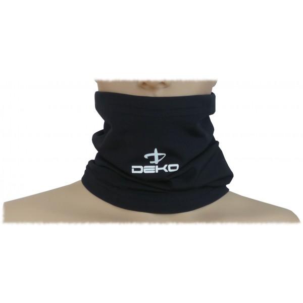 DEKO TUBE neck warmer black color