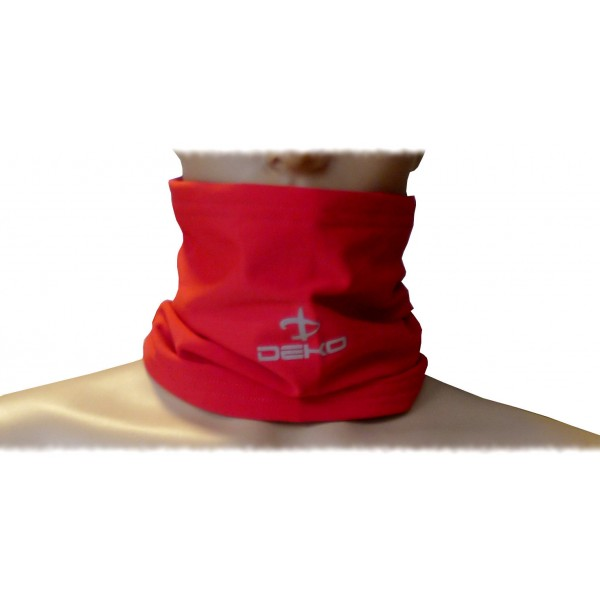 DEKO TUBE neck warmer red color