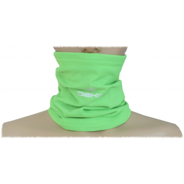 DEKO TUBE neck warmer fluorescent green color
