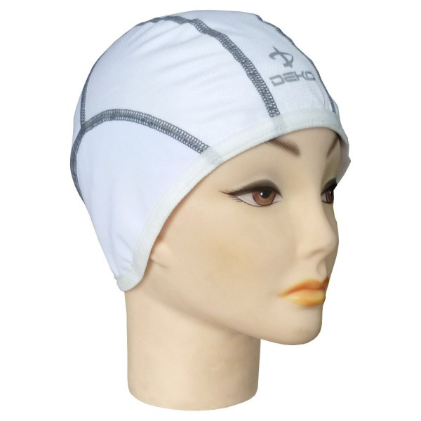 DEKO MICRO cap neck warmer white color
