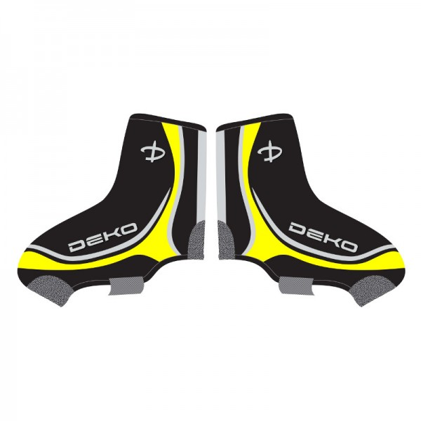 DEKO NEW GRAPHICS shoe covers black/white/fluoresc...