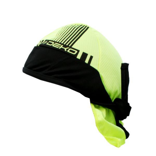 DEKO STYLE bandana fluorescente yellow/black color
