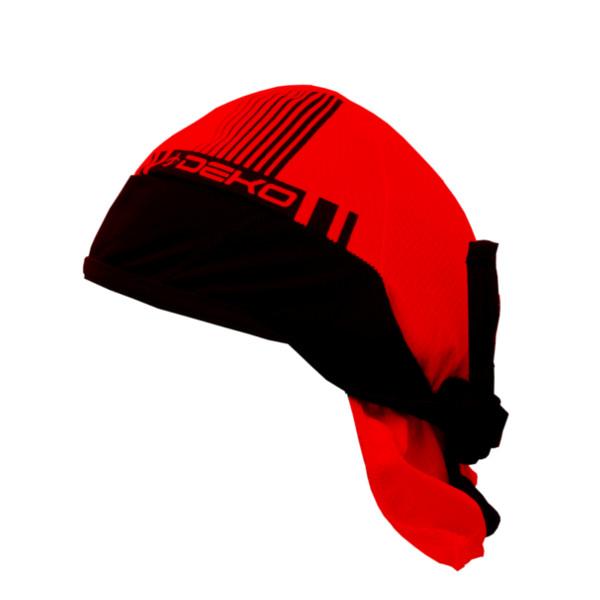DEKO STYLE bandana red/black color