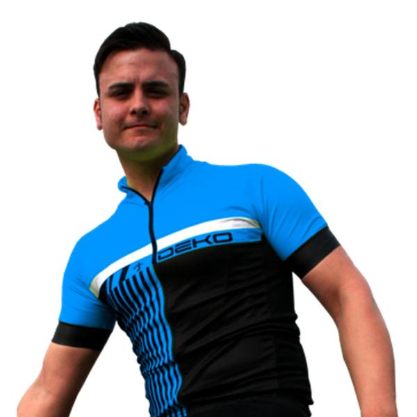 DEKO STYLE summer jersey black/blue color