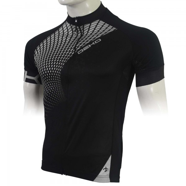 DEKO TECH summer jersey black/white color