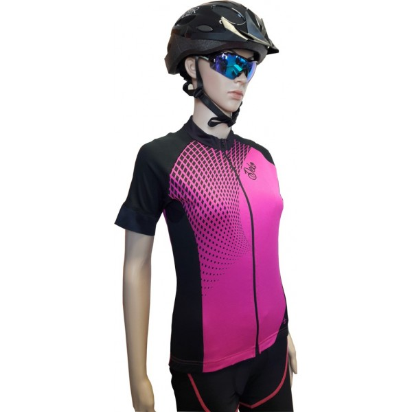 DEKO TECH summer jersey black/fuchsia color