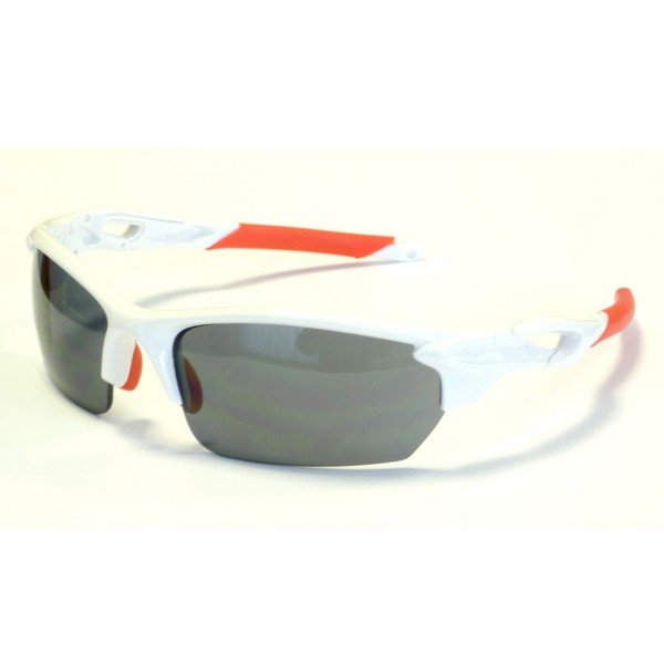 DEKO ONE cycling glasses white/red color