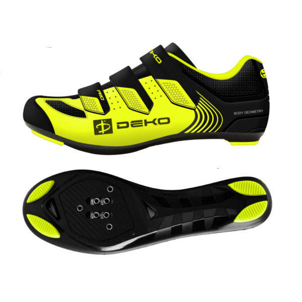 DEKO CROSS mountain bike shoes fluorescent yellow/...