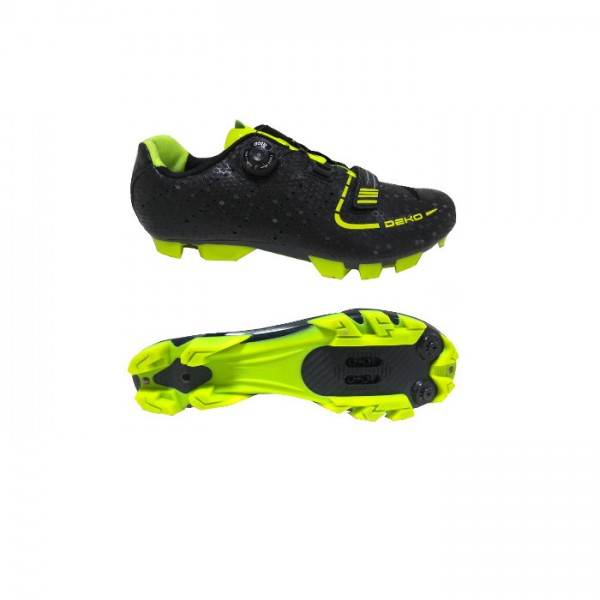 DEKO ASPIDE mountain bike shoes black/fluorescent ...
