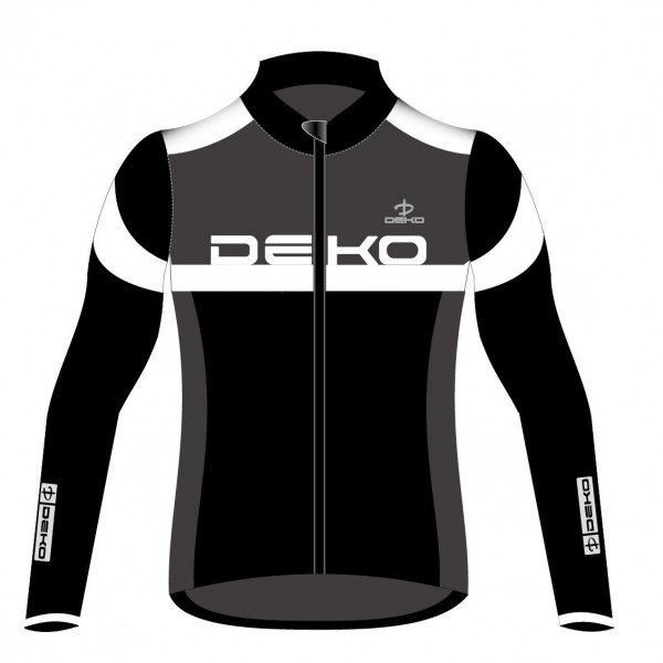 DEKO LEADER 2 winter jersey black/grey/white color