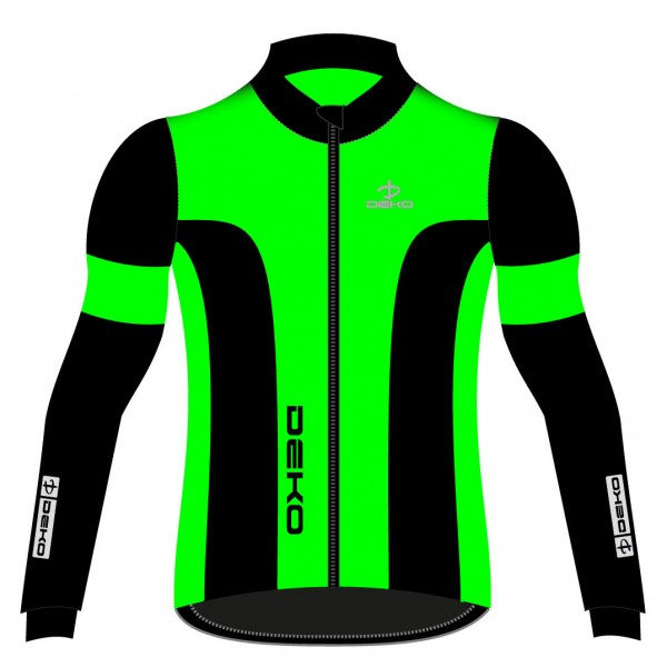 DEKO LEADER 2 winter jacket fluorescent green/blac...